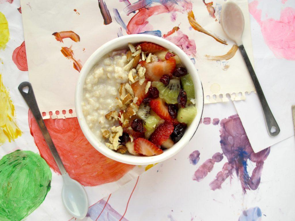Porridge Clasico Con Frutas Natalia Kiako
